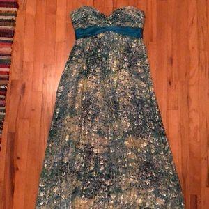 BCBG Max Azria Floor Length Gown